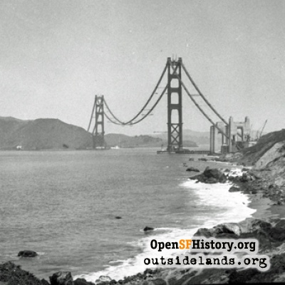 Golden Gate Bridge Construction
