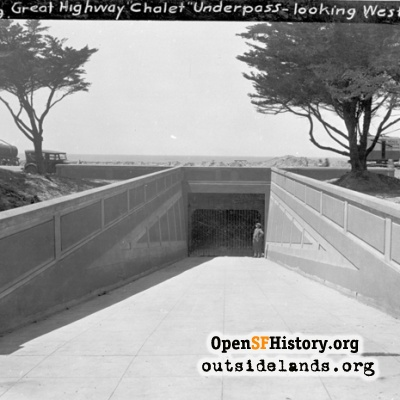 Underpass at Beach Chalet
