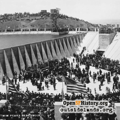 Dedication of Twin Peaks Reservoir, May 12, 1912