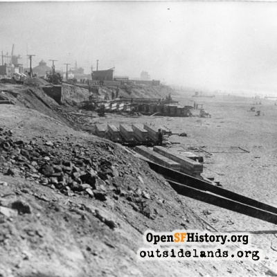 Ocean Beach Esplanade Construction