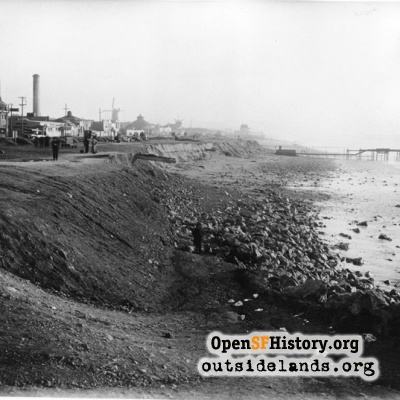 Ocean Beach Esplanade Prior to  Construction