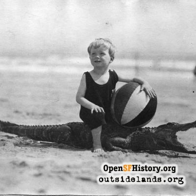 Kid on an Alligator