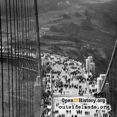Golden Gate Bridge - Pedestrian Day