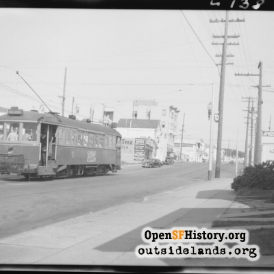Taraval at 30th Looking East