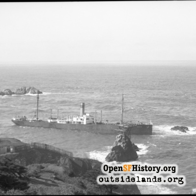 SS Ohioan wrecked at Point Lobos