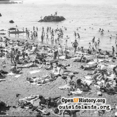 China Beach Sunbathers