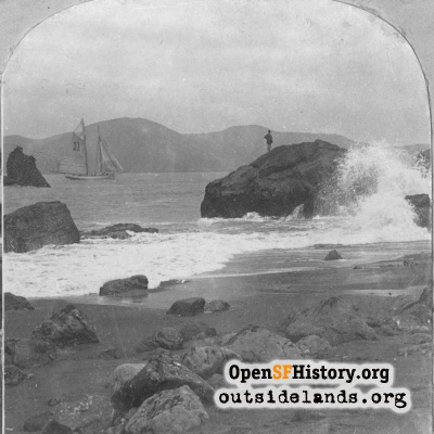 The Golden Gate from Lands End