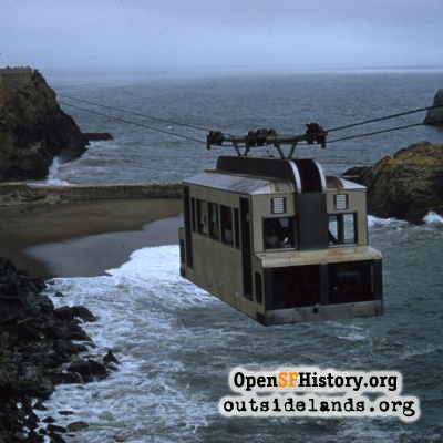 Sky Tram from Point Lobos
