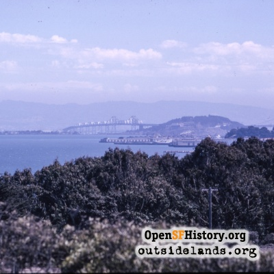 View from Presidio to Bay Bridge