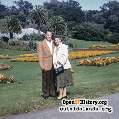 Couple at Conservatory