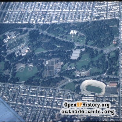 Golden Gate Park Aerial