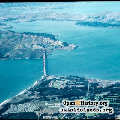 Golden Gate Bridge Aerial