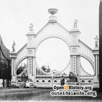 Sutro Heights Main Gate