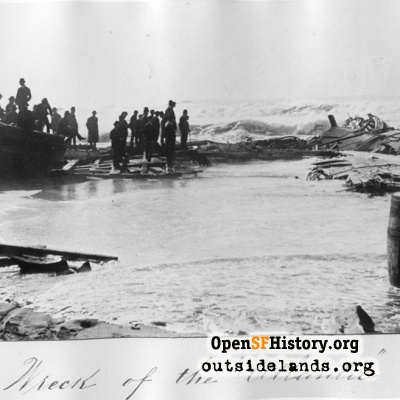 Wreck of the whaler Atlantic