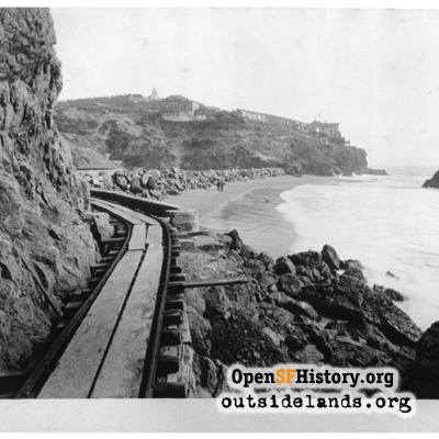 Sutro Baths construction