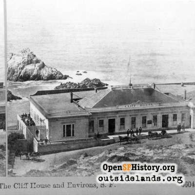 First Cliff House & Seal Rocks