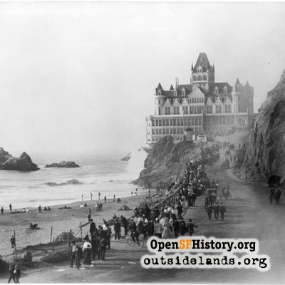 Second Cliff House and Seal Rocks