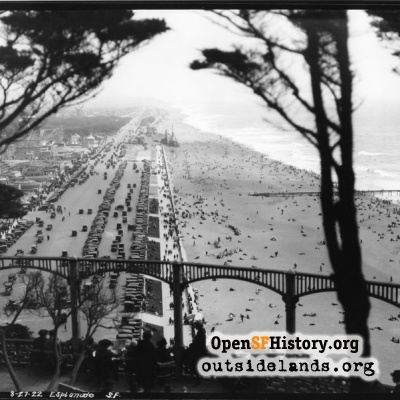 Great Highway from Sutro Heights
