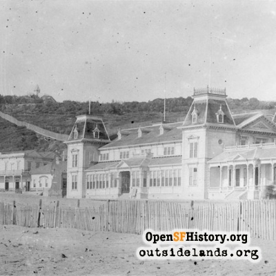 Seal Rock House and Ocean Beach Pavilion