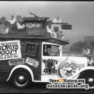 Topsy's Roost vehicle