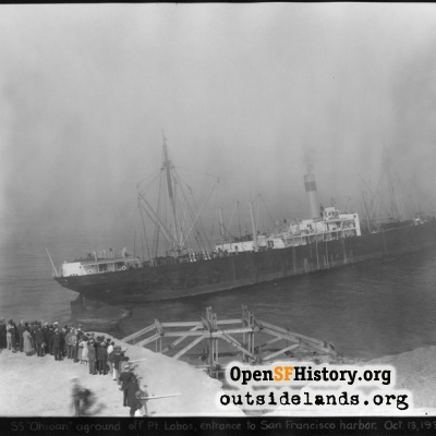 Wreck of the SS Ohioan