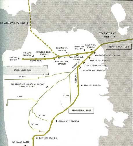 bart map san francisco pdf