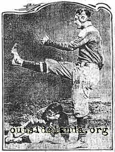 Big Game Kick 1902