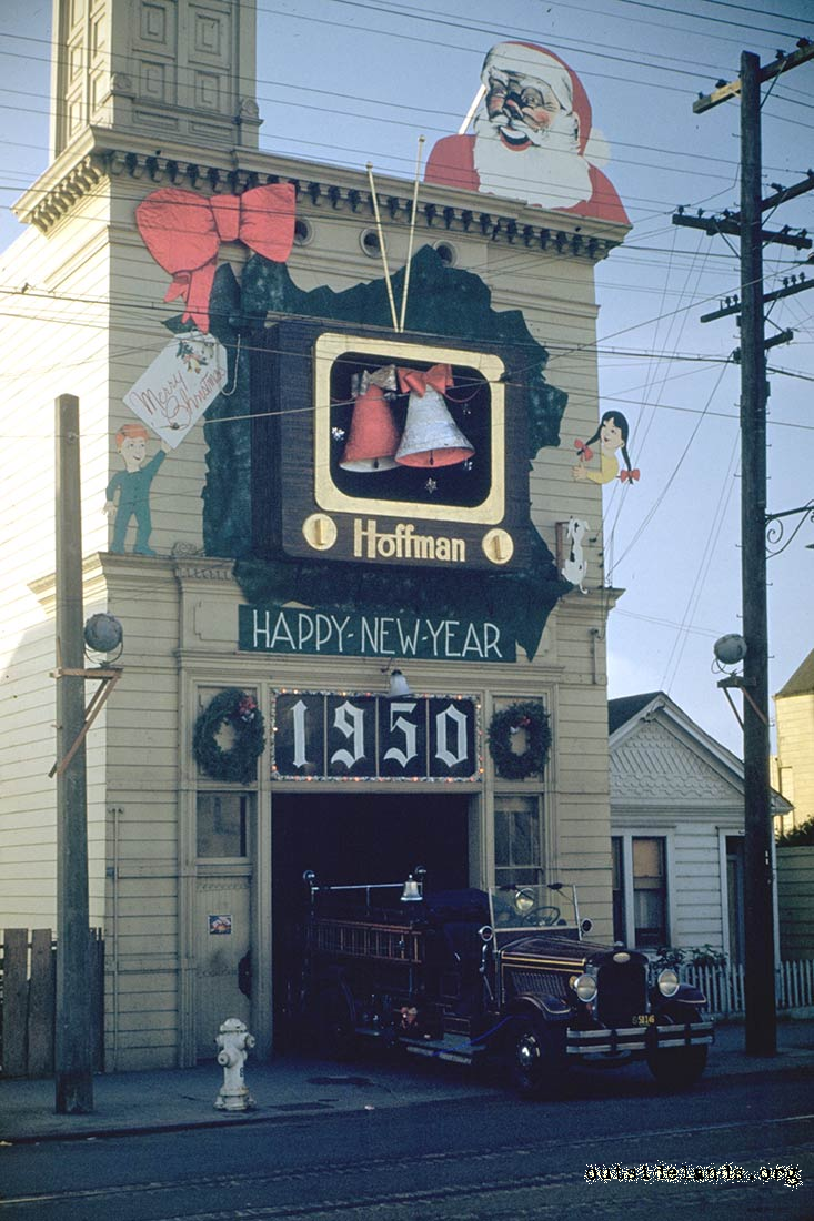 Engine 33 in 1950