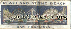 Playland Matchbook