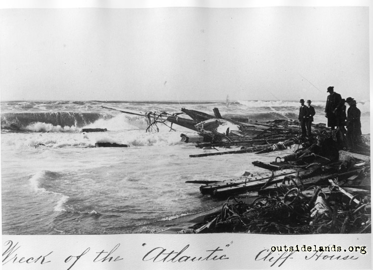 Wreck of the whaler Atlantic, Cliff House