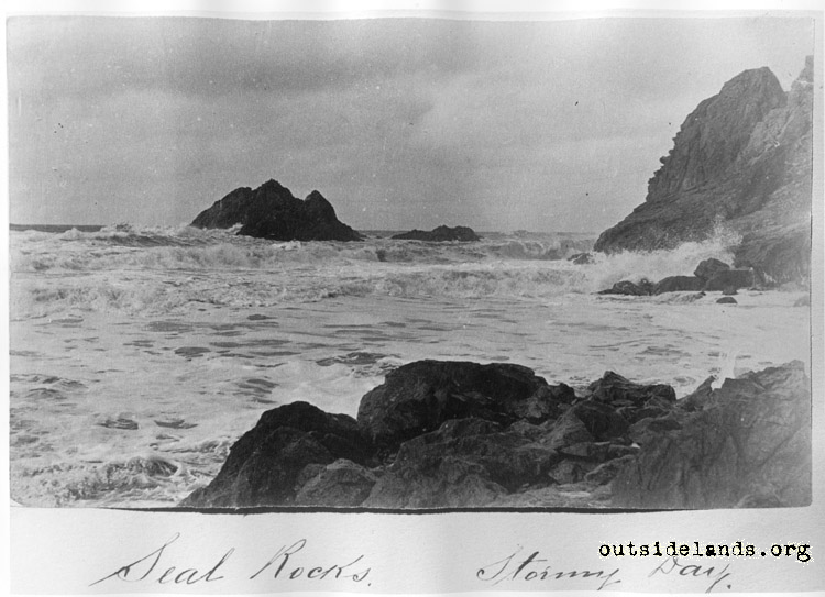 Seal Rocks, Stormy Day
