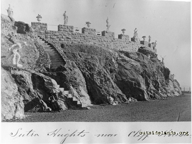 Sutro Heights near Cliff House