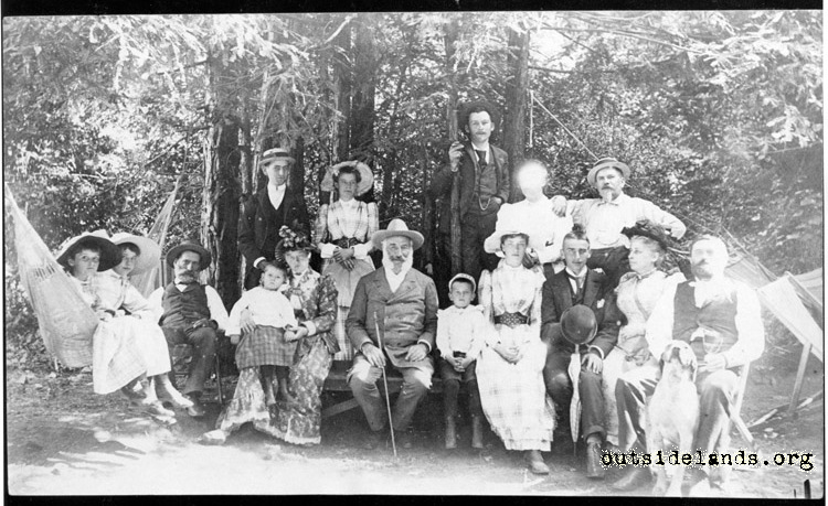 Adolph Sutro and Family