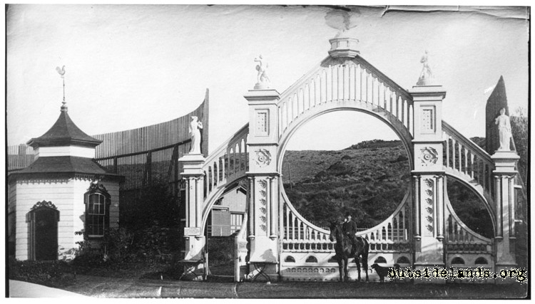 Sutro Heights Entry Gates
