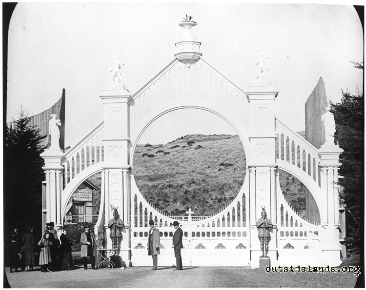Entry Gate, Sutro Heights