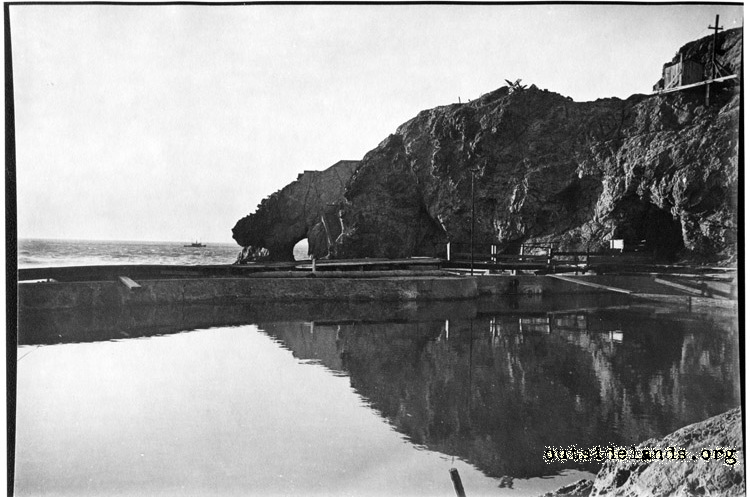 Sutro Baths. Settling Pond and Point Lobos