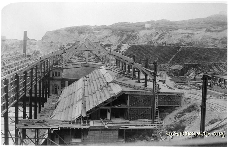 Sutro Baths under construction