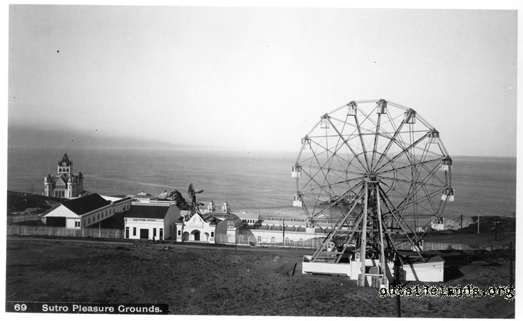 Firth Wheel and attractions on Merrie Way