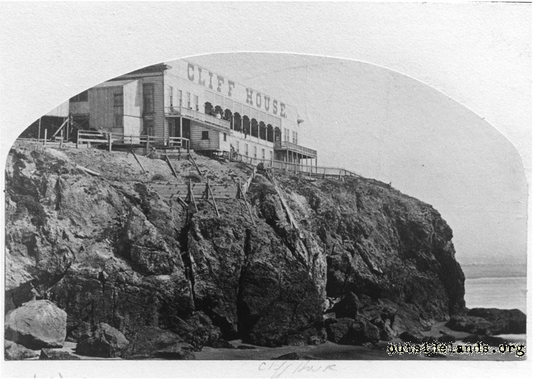 First Cliff House from Fisherman's Rock
