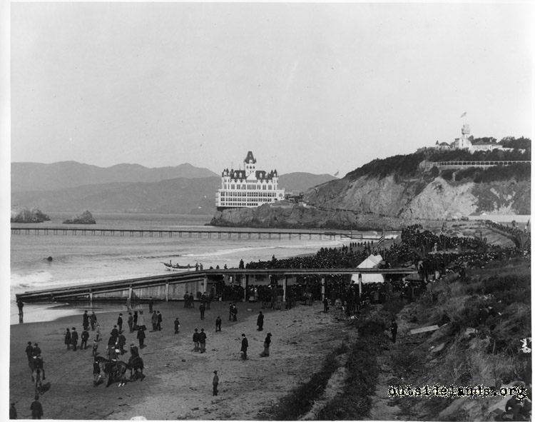 Ocean Beach. Landing the Transpacific Cable