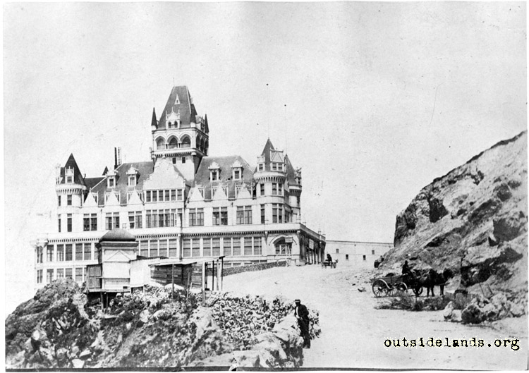 Second Cliff House from Cliff Road
