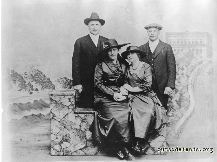 Third Cliff House,  studio portrait