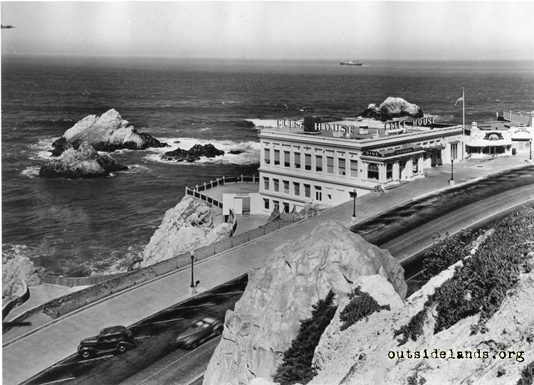 Third Cliff House from Sutro Heights