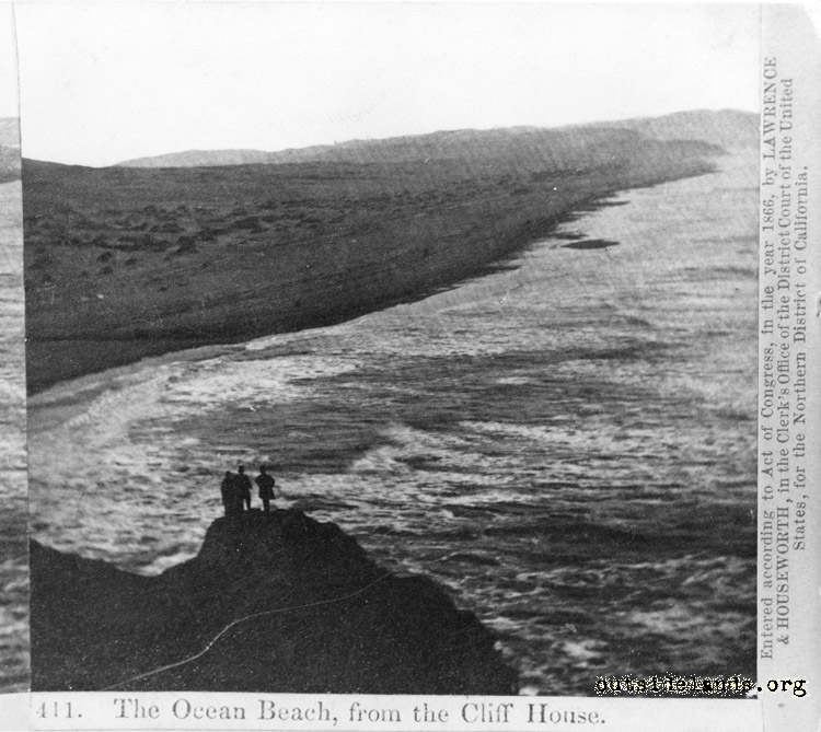 Ocean Beach, looking south from the Cliff House