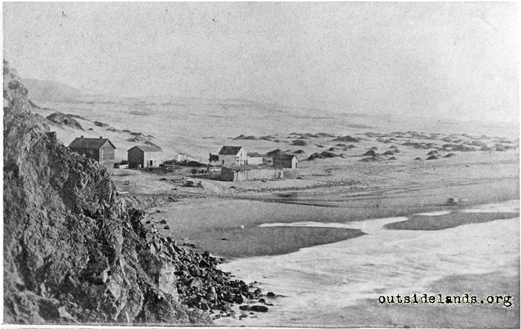 Ocean Beach. View looking southeast