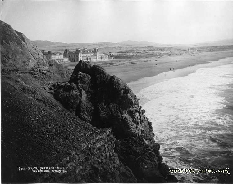 Ocean Beach viewed from Cliff House