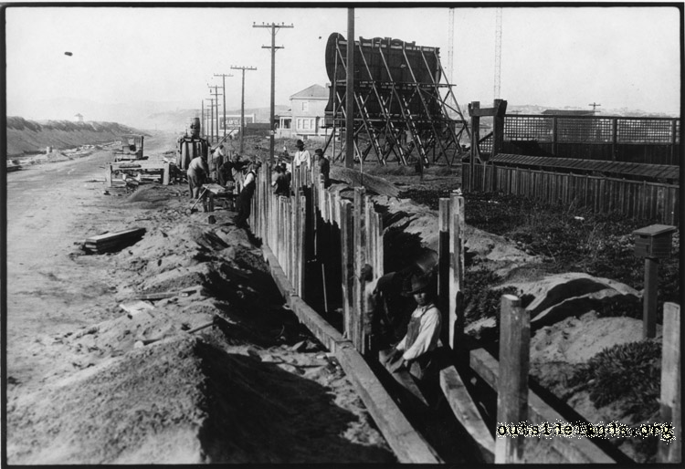 Great Highway Sewer Construction