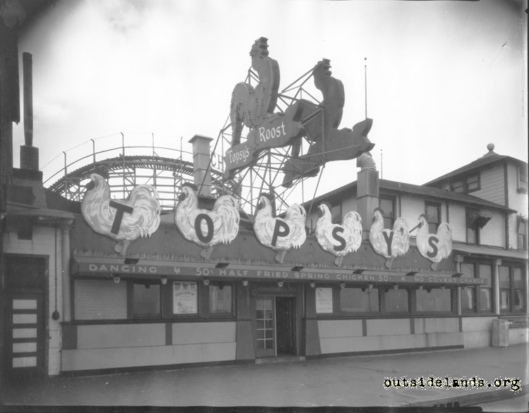 Original Topsy's Roost on Great Highway