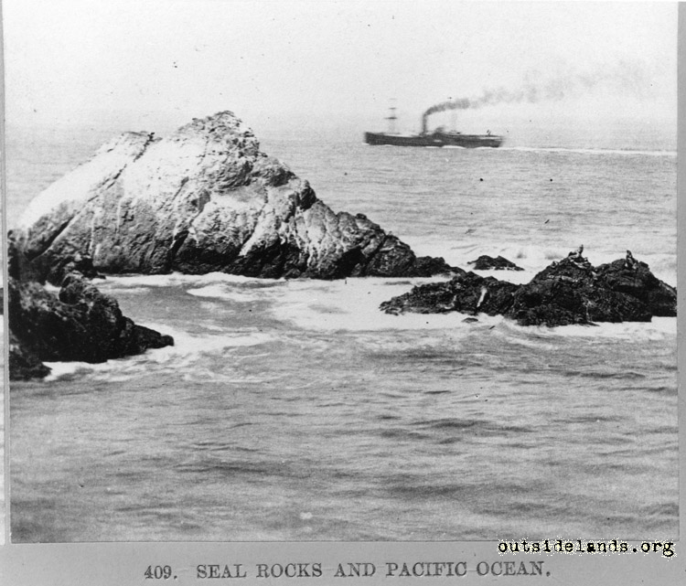 Seal Rocks from Cliff House