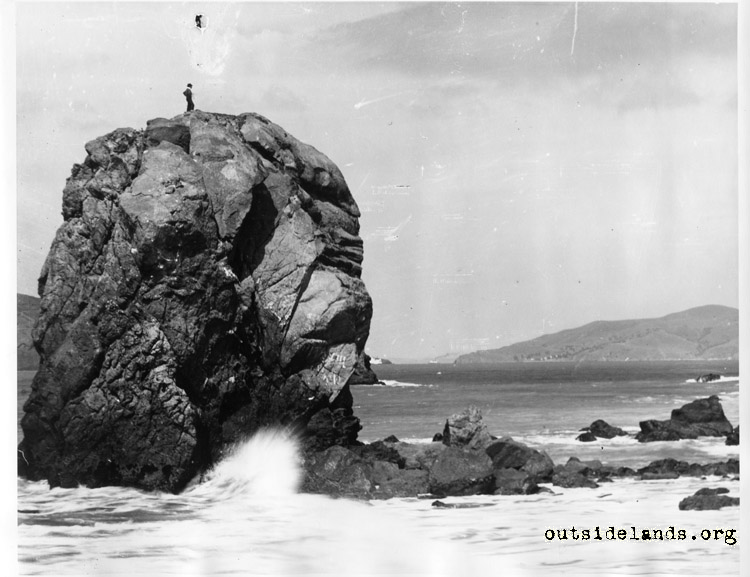 Helmet Rock at Lands End.